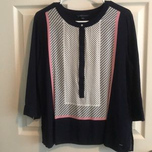 Tops - Tommy Hilfiger Dress shirt - large